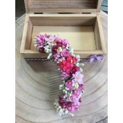 peineta flores