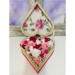 caja corazon araceli