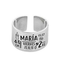 anillo ajustable (cruzado)