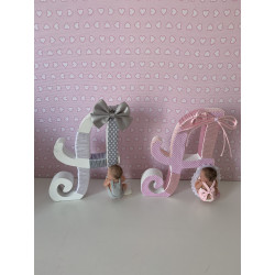 Letra bebe decorada