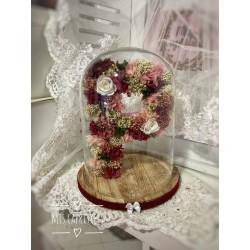 cupulas letra floral