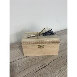 """caja arras/alianzas """"lavanda"""""""